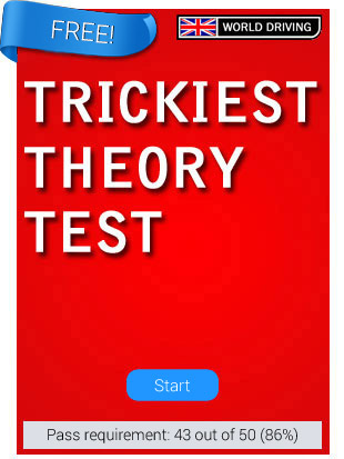 The Trickiest, hardest car mock theory test    ever! (FREE)